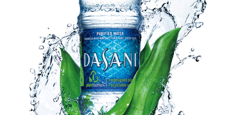 Dasani twist botella reciclable coca cola