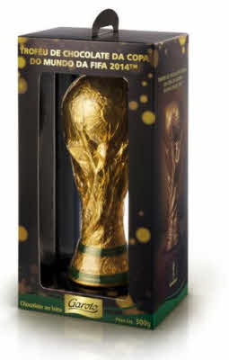 Copa del mundo chocolate nestle