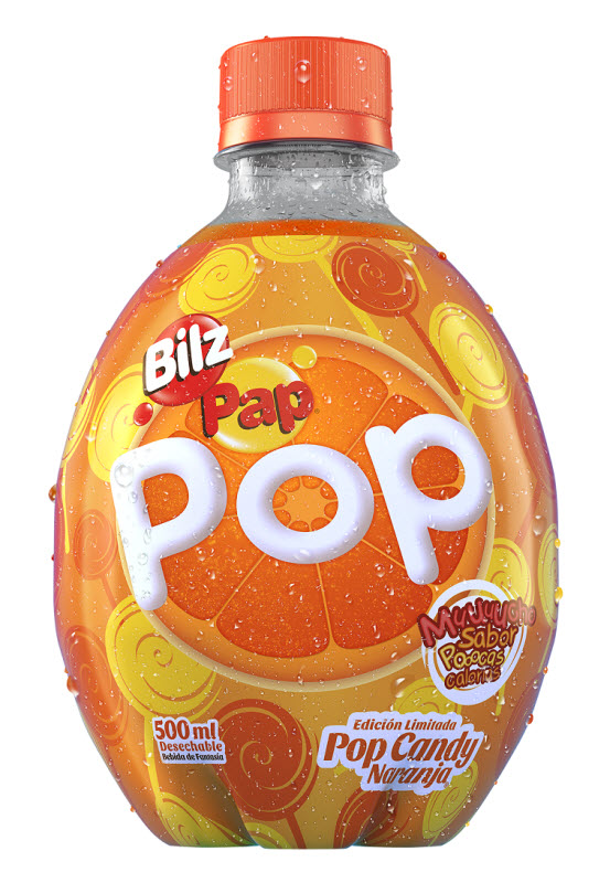 Botella Pop Candy
