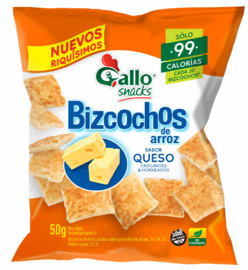 snacks queso gallo