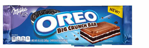 big crunch bar oreo milka