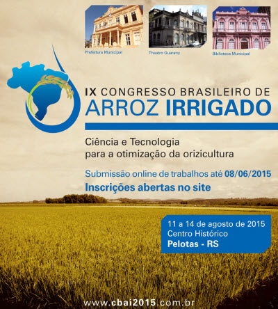 congreso Arroz Irrigado