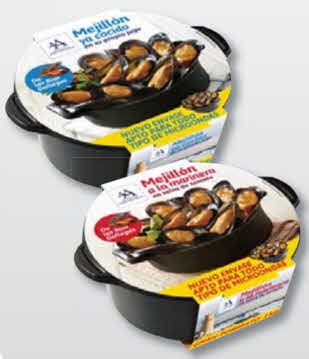 bandeja mariscos RPC Bebo Food Packaging